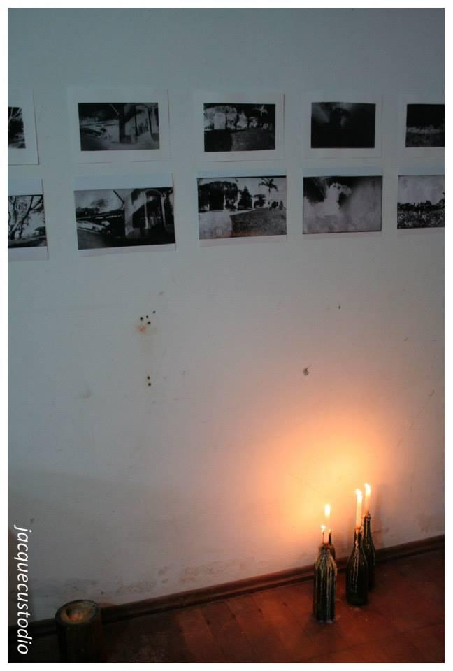 Exposição de fotografias em pinhole de lugares da zona sul de Humanitas Arte e Cultura.